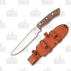 Bark River Knives STS 7.5 Burgundy
