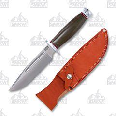 Bark River Teddy Green Fixed Blade