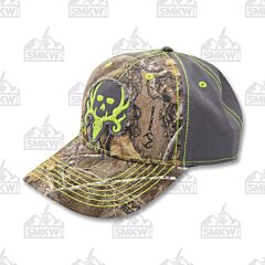 Bone Collector Camo/Charcoal Outdoor Cap