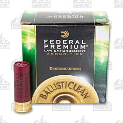 "Federal Premium Law Enforcement 12 Gauge 2.75"" 9 Pellets 00 Buckshot 25 Shells"