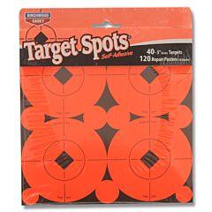 "Birchwood Casey Target Spots 1"" 40ct 3"" Diameter Targets"