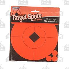 "Birchwood Casey Target Spots 10"" 10ct 6"" Diameter Targets with 120ct Repair Pasters"