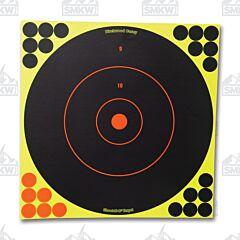 """Birchwood Casey Shoot N-C 12"""" Bull's Eye Targets 12 Pack"""