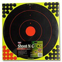 """Birchwood Casey Shoot-N-C 5pk 17.25"""" Diameter Bull's-Eye Targets"""