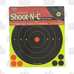 "Birchwood Casey Shoot-N-C 6pk 8"" Diameter Reactive Targets"