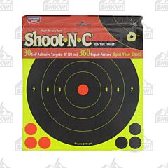 "Birchwood Casey Shoot-N-C 30pk 8"" Diameter Reactive Targets"