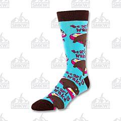 Oooh Yeah! Bearly Awake Men's Crew Socks