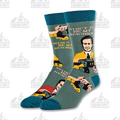 Oooh Yeah! Be My Neighbor Men's Crew Socks