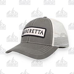Beretta Patch Grey Trucker Hat