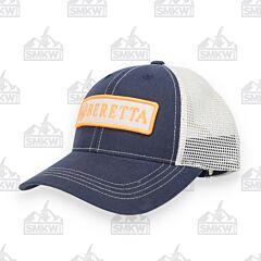 Beretta Patch Orange and Navy Trucker Hat