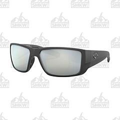 Costa Blackfin Pro Matte Black Sunglasses Gray Glass
