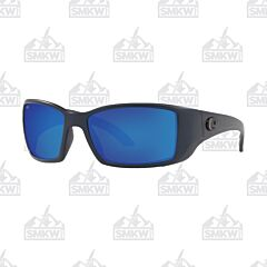 Costa Blackfin Pro Matte Midnight Blue Sunglasses Mirror Blue Glass