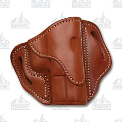 1791 Gunleather Classic Brown Open Top Right Hand OWB 2.1 Multi-Fit Belt Holster Size 1