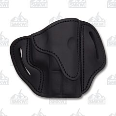 1791 Gunleather Stealth Black Open Top Right Hand OWB 2.1 Multi-Fit Belt Holster Size 1