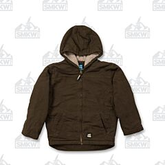 Berne Workwear Softstone Washed Hooded Coat Toddler and Youth