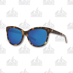 Costa Bimini Shiny Vintage Tortoise Shell Sunglasses