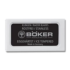 Boker Safety Razor 10 Pack Replacement Blades
