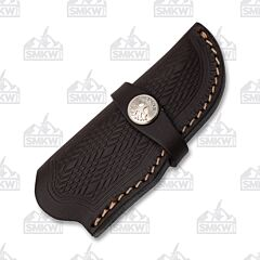 Boker Brown Leather Trapper Sheath