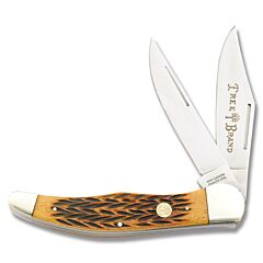 Boker Traditional Series Folding Hunter Brown Bone
