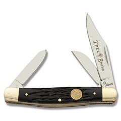 Boker Traditional Series Medium Stockman Black Bone