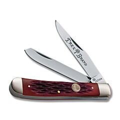 Boker Traditional Trapper Red Bone