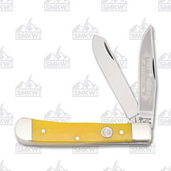 Boker Trapper Yellow Bone
