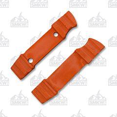 Boker Bender Orange Micarta Handle Scales