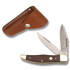 Boker Two Blade Folding Hunter Carbon Steel Blades Rosewood Handle