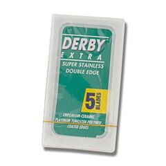 Derby Replacement Safety Razor Blades Set of 5