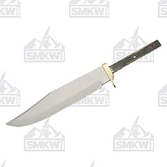 """Push Tang 10"""" Bowie Blade Blank"""