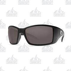 Costa Blackfin Matte Black Plastic Sunglasses