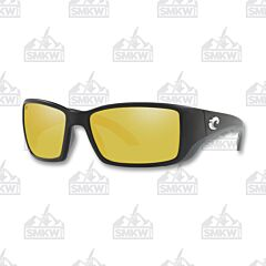 Costa Blackfin Matte Black Sunrise Silver Sunglasses