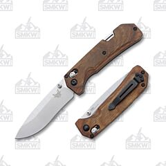 Benchmade Grizzly Creek Stabilized Wood S30V