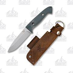 Benchmade Bushcrafter Green With Red G10 Handle