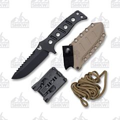Benchmade 375BKSN Adamas Black Steel Sand Sheath