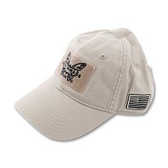 Benchmade Tan Tactical Hat with Velcro Patch