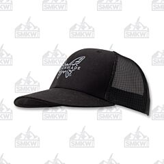 Benchmade Favorite Trucker Hat Black Gray Logo