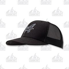 Benchmade Favorite Trucker Hat Black Gray Logo