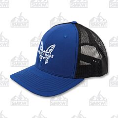 Benchmade Favorite Trucker Hat Blue and White