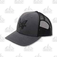 Benchmade Favorite Trucker Hat Gray and Black