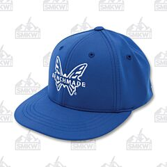 Benchmade Youth Favorite Flex Hat Blue and White