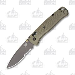 Benchmade 535SGRY1 Bugout Ranger Green Partially Serrated