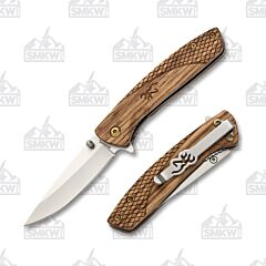 Browning Pursuit Zebra Wood