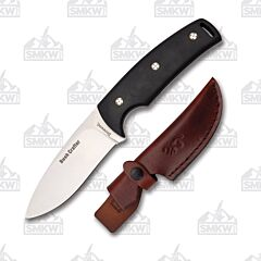 Browning Bush Craft Ultra 7Cr17MoV Blade Black G10 Handle