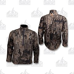 Browning Wicked Wing 1/4 Zip Smoothbore Jacket Realtree Timber Large