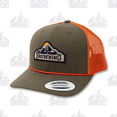Browning Mountain Patch Green Hat
