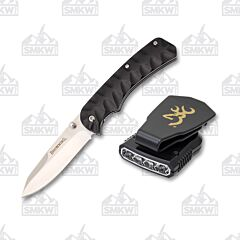 Browning Night Seeker Knife/Cap Light Combo