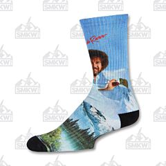 Oooh Yeah! Bob Ross Basic Large and Medium Socks