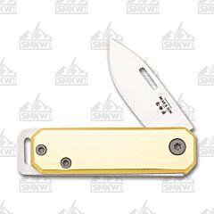 Bear and Son 109 Slip Joint Folder Yellow