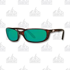 Costa Brine Tortoise Shell Plastic Sunglasses